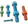 Coated Stud Bolts and Nuts
